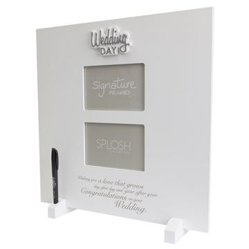 Picture of Lrg signature frame wedding