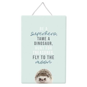 Picture of Super hero hanging sign