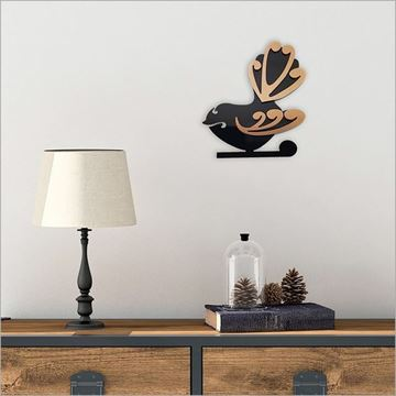 Picture of 2tone fantail wall art