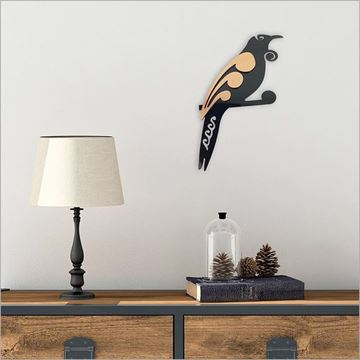 Picture of 2tone tui wall art