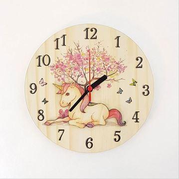 Picture of Unicorn clock