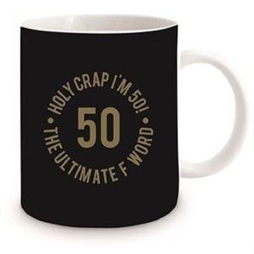 Picture of 50th black mug