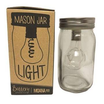 Picture of Mason jar light battery