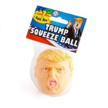 Picture of Trump squeeze ball