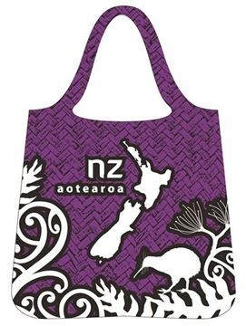 Picture of Bag foldable aotearoa map