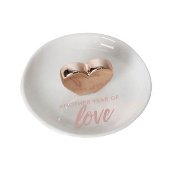 Picture of Love anni trinket plate