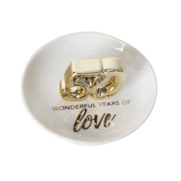 Picture of 50th anni trinket plate