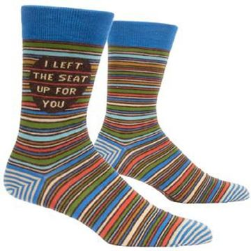Picture of Mens left seat up socks