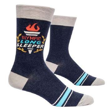 Picture of Mens long sleeper socks