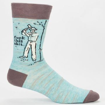 Picture of Mens f**k this shit socks
