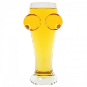 Picture of Boobs beer glass