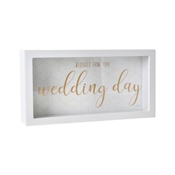 Picture of Wedding day message box