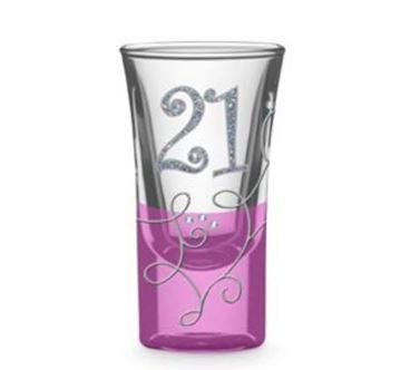 Picture of 21 vine shot glass