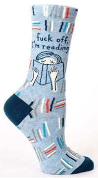 Picture of Womens im reading socks