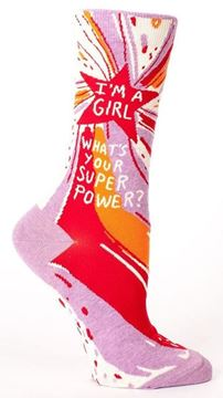 Picture of Womens super power socks