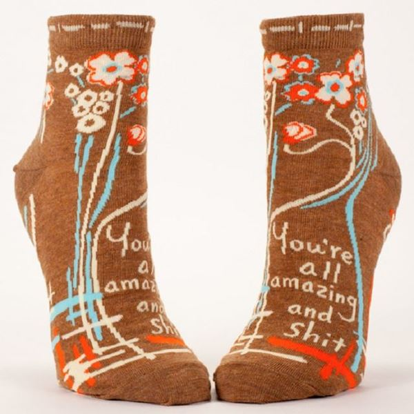 Picture of Womens ankle amazing socks