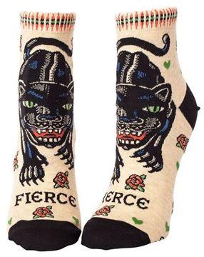 Picture of Womens ankle fierce socks