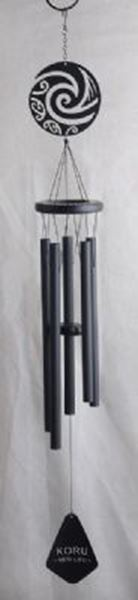Picture of Koru wind chime black