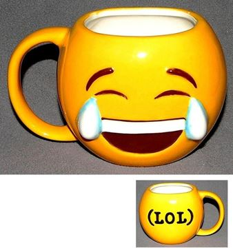 Picture of Emoji mug laugh