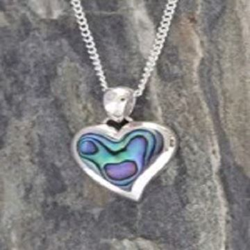 Picture of Silver paua pendant