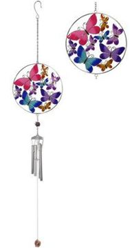 Picture of 17cm metal butterfly windchime