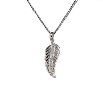 Picture of SS fern pendant