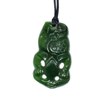 Picture of Jade pendant tiki