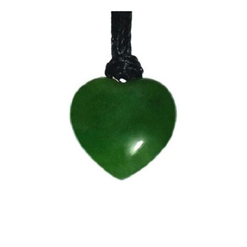 Picture of Jade pendant heart