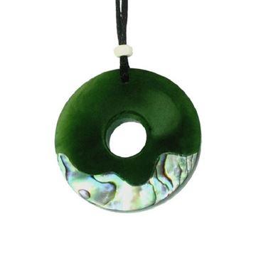 Picture of Jade pendant doughnut