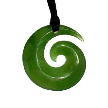 Picture of Jade koru pendant