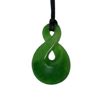 Picture of Jade twist pendant