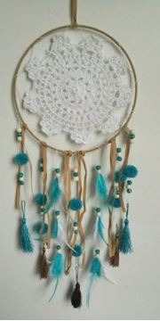 Picture of Dreamcatcher 20cm crochet