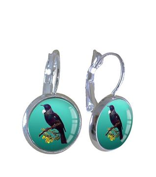 Picture of Tui green earrings
