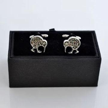 Picture of Paua filigree cufflinks