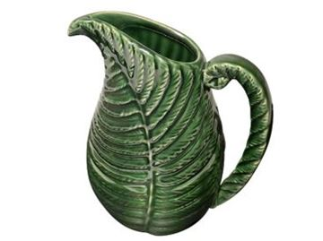 Picture of 18cm fern jug ceramic