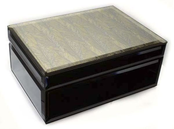 Picture of Feather jewellery box med