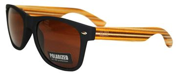 Picture of Sunnies black w/striped arms