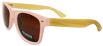 Picture of Sunnies pink w/brown lens