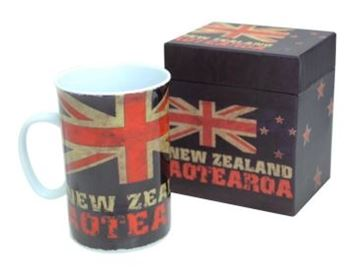 Picture of Aged nz flag mug