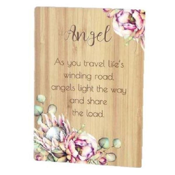 Picture of Angel bunch of joy plaque