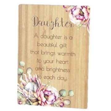 Picture of Daughter bunch of joy plaque