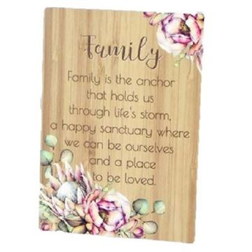 Picture of Family bunch of joy plaque