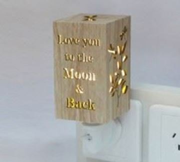 Picture of Love you to night light