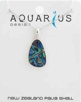 Picture of Paua teardrop pendant