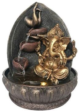 Picture of Water feature ganesh meditation hand