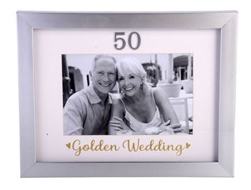 Picture of 50th anni 6x4 frame