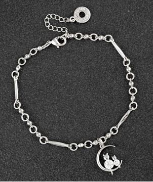 Picture of EQ cats on moon bracelet