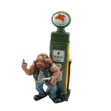 Picture of Biker petrol pump w/finger