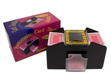 Picture of 4 deck automatic card shuffler