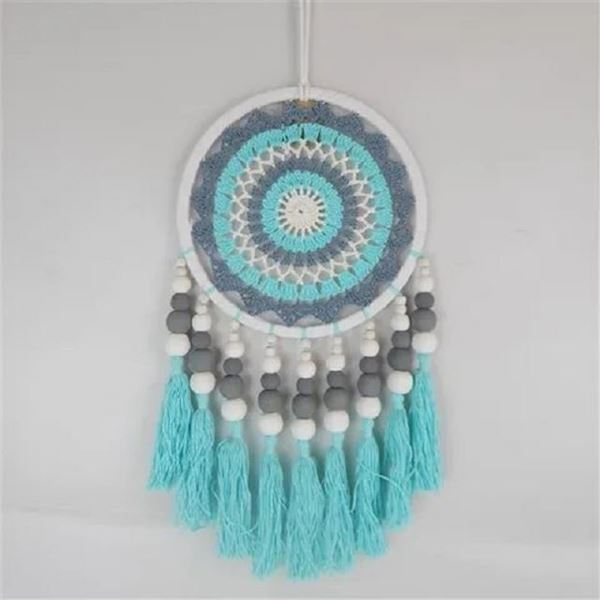 Picture of Boho beaded dreamcatcher